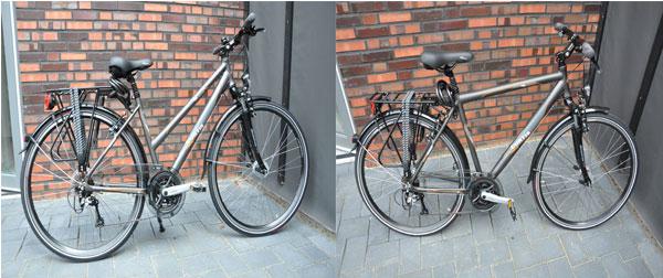 Fahrräder von Oma und Opa Lingen
