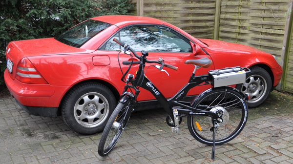 Oma und Opa Lingen Auto und E-Bike