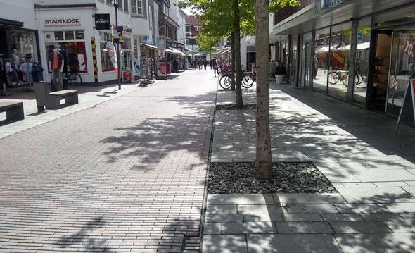 Lookenstr. in Lingen Fußgängerzone