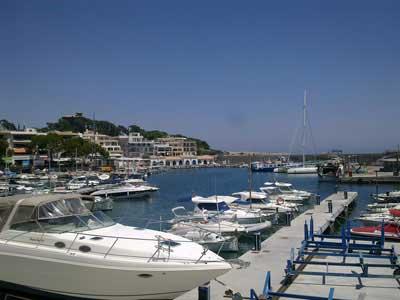 Boote im Hafen von Cala-Ratjada