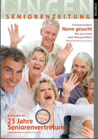 Erstausgabe der Seniorenzeitung in Lingen.