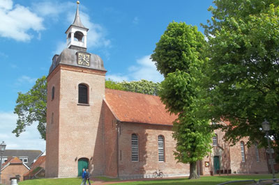 Backsteinkirche in Wittmund