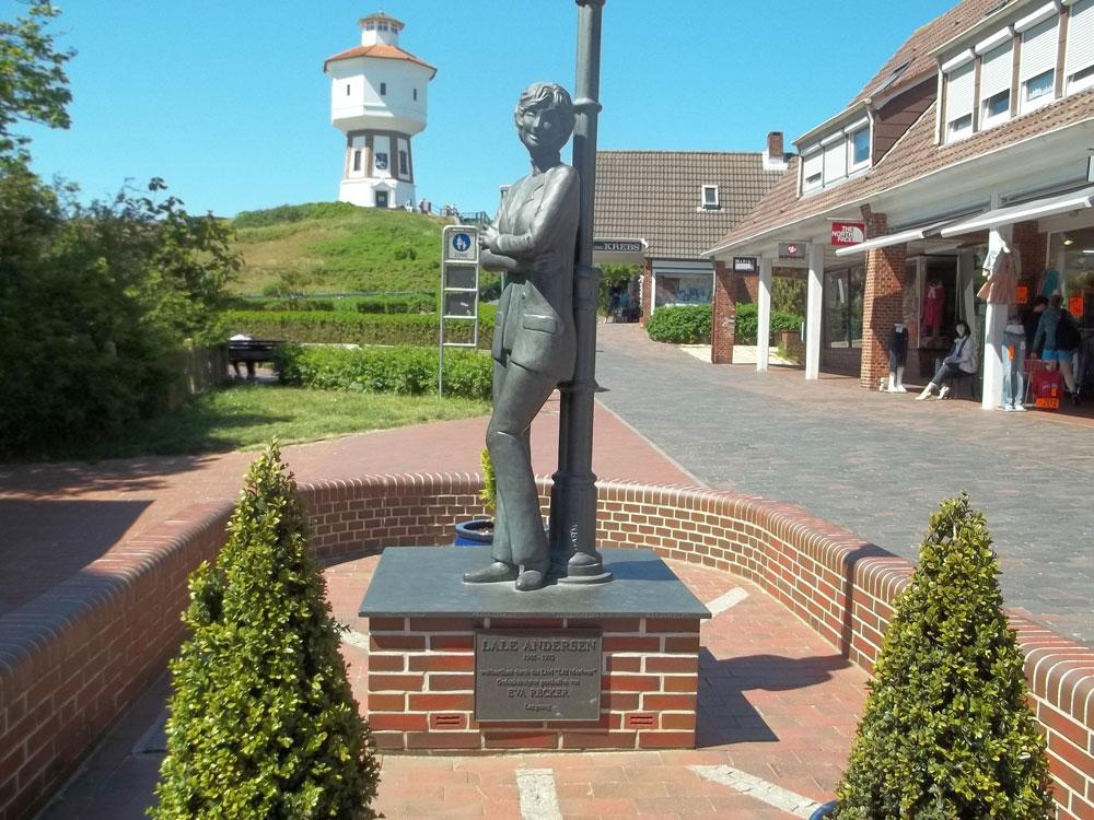 Langeoog Denkmal Lale Andersen