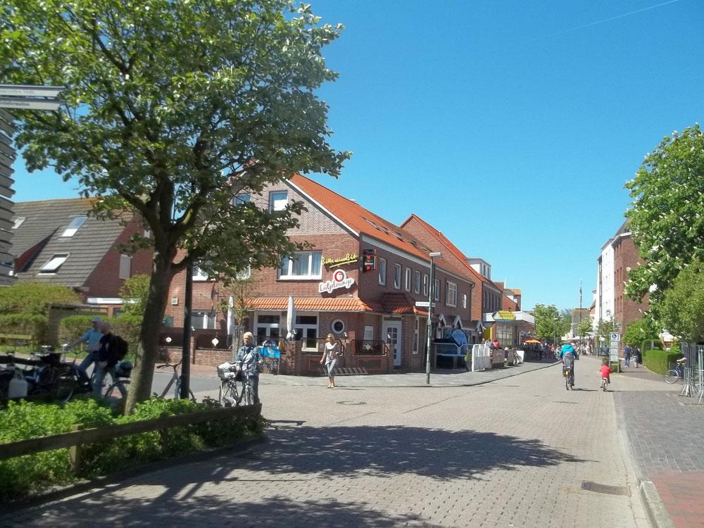 Der Ort auf Langeoog