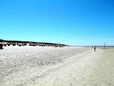 Sandstrand Langeoog