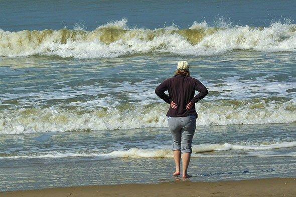Senioren und die Nordsee
