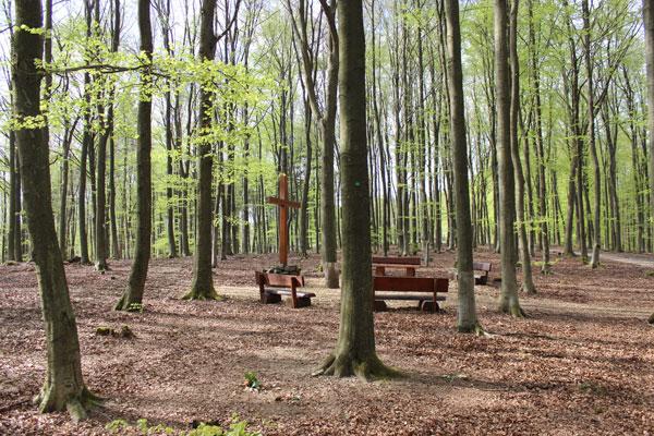 Kreuz im Friedhofswald Siegen