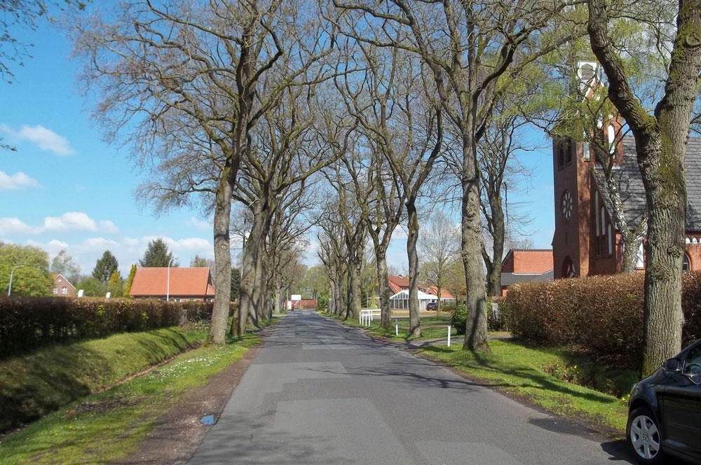 Ortsstr. in Ihlowerfehn