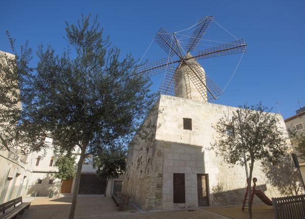 Windmühle D'EN FRARET in Manacor auf Mallorca