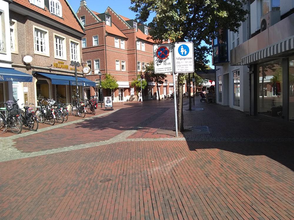 Lingen Bauerntanz Straße