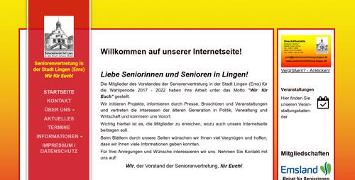 Homepage der Seniorenvertretung Lingen