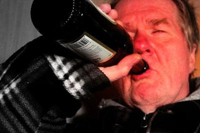 einHang zum Alkoholismus