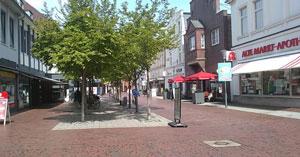 Fußgängerzone in Lingen