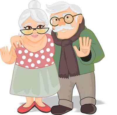 Oma und Opa in der Senioren-WG